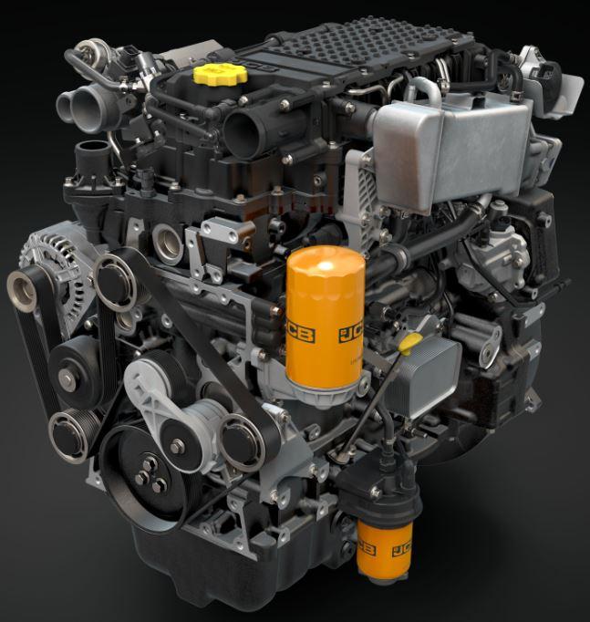 JCB 430 Dieselmax 3 liter motor