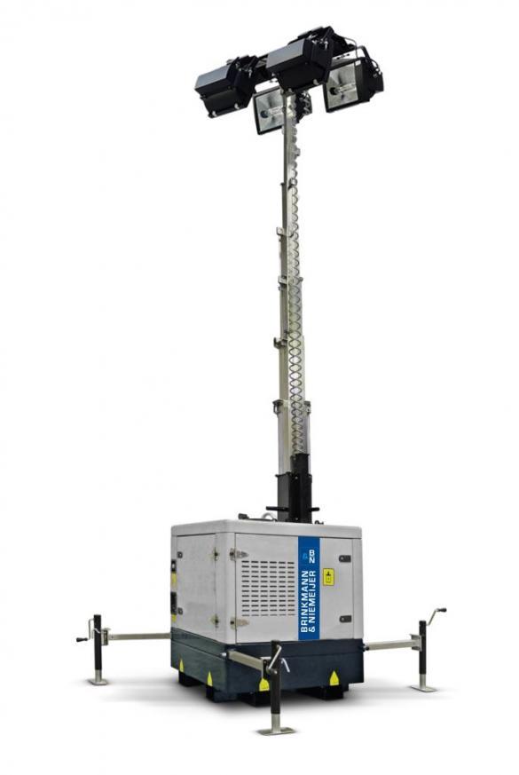 Yanmar box lichtmast in automatische uitvoering  | ALM9-B