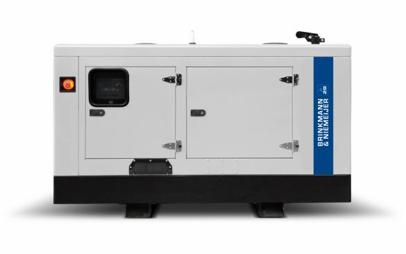 35 kVA Yanmar geluidgedempt aggregaat  | BNY35-5G2