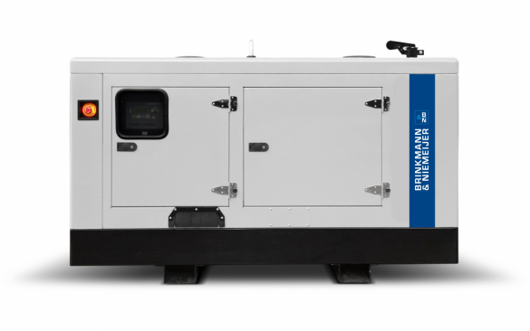 45 kVA Iveco geluidgedempt aggregaat     BNF45-5G2