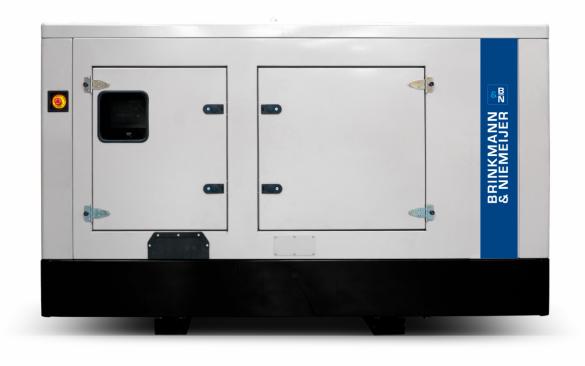 100 kVA Iveco geluidgedempt aggregaat | BNF100-6G0