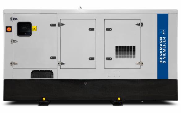 180 kVA Iveco geluidgedempt aggregaat  | BNF180-5G2