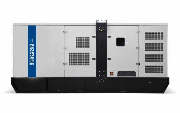605 kVA MTU geluidgedempt aggregaat     BNM605-5G1
