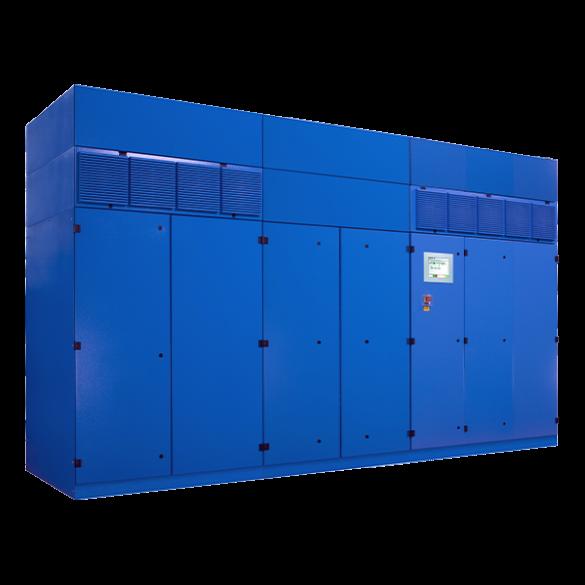 Roterende UPS 1800kW   UNIBLOCK UBT+ 1800 met 2x POWERBRIDGE 21MJ