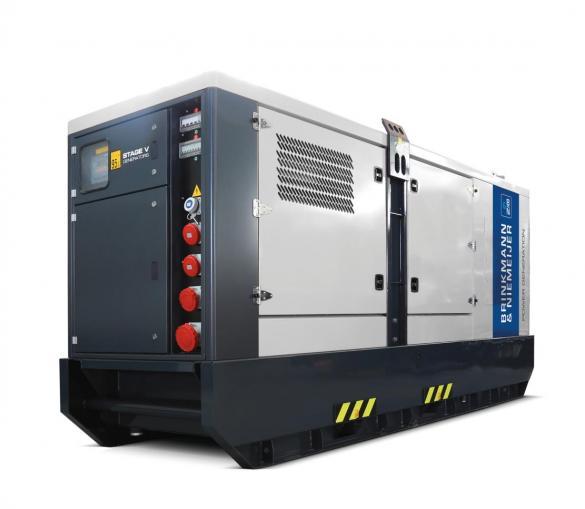 100 kVA Iveco rental generating set   BNRF105-5G5