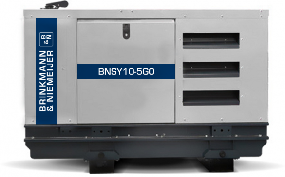 10 kVA Yanmar geluidgedempt stationair aggregaat | BNSY10-5G0