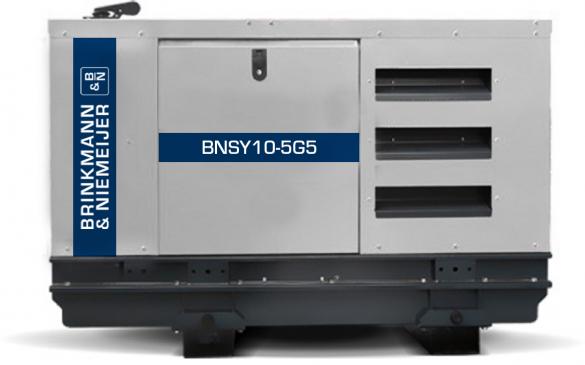 10 kVA Yanmar geluidgedempt stationair aggregaat | BNSY10-5G5