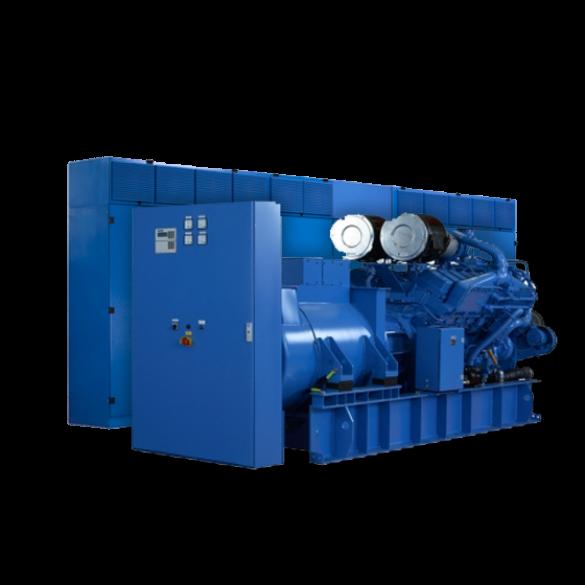 Diesel roterende UPS 1800kW   UNIBLOCK UBTD+ 1800 met 2x POWERBRIDGE 16.5MJ