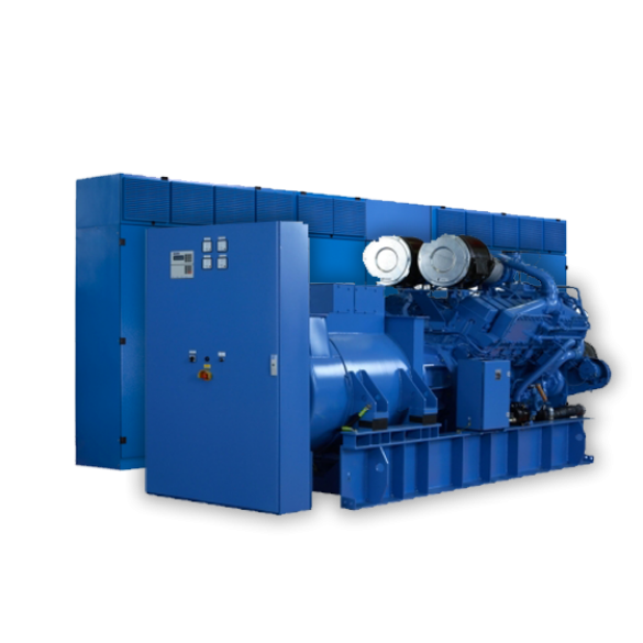 Diesel roterende UPS 1000kW | UNIBLOCK UBTD+ 1000/1000