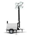 Yanmar mobiele lichtmast in handmatige uitvoering  | HLM9-A