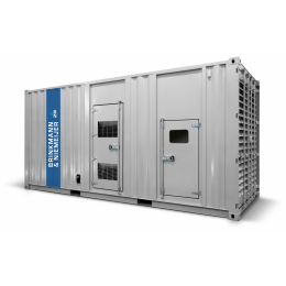 920 kVA Mitsubishi geluidgedempt aggregaat in 20ft container   | BNT920-5C1