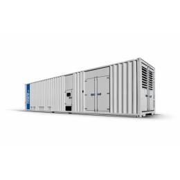 1390 kVA Mitsubishi geluidgedempt aggregaat in 40ft container   | BNT1390-5C1
