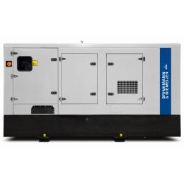 120 kVA Doosan geluidgedempt aggregaat    BND120-5G0