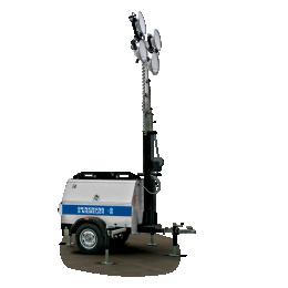 Yanmar mobiele lichtmast in handmatige uitvoering  | HLM9-B