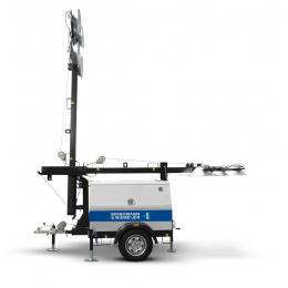 Yanmar mobiele lichtmast in handmatige uitvoering  | HLM9-C