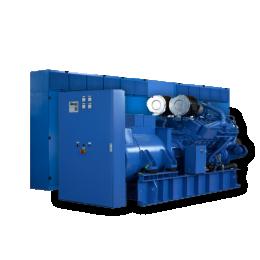 Diesel roterende UPS 2250kW | UNIBLOCK UBTD+ 2250 met POWERBRIDGE 21MJ